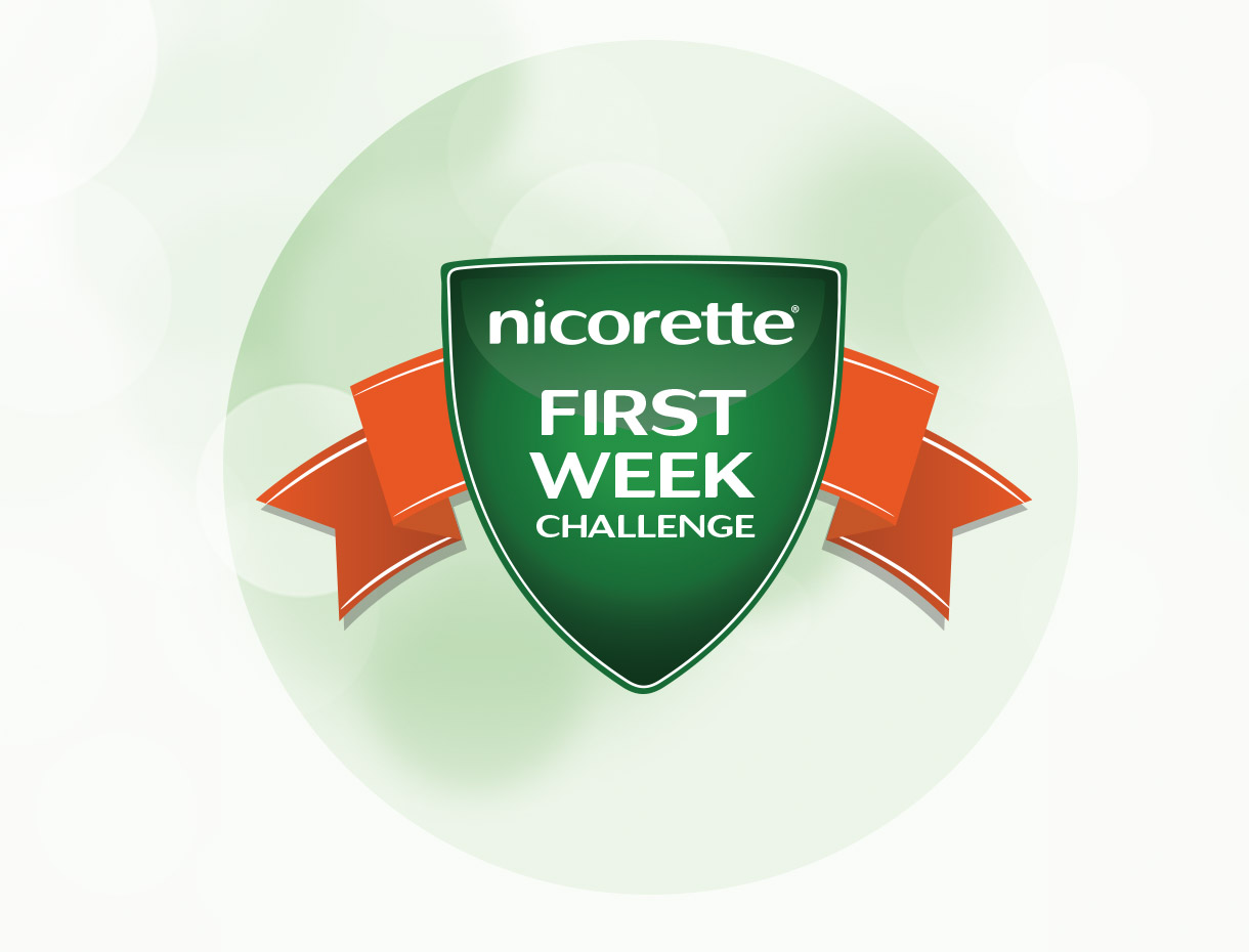 Nicorette® First Week Challenge